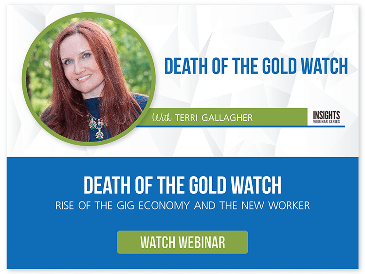 Death of the Gold Watch - TAG Webinar